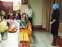 Воскресная школа провела литературно музыкальную встречу памяти Сергия Радонежского