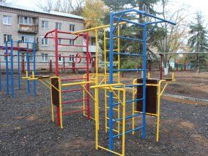 Новая спортивно игровая площадка открылась в Подлесном