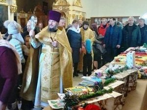 Рождественская ярмарка открылась в Марксе