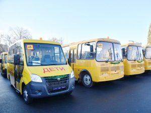 Приволжская школа получила новый школьный автобус