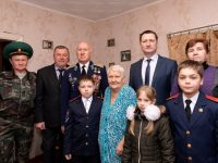 Пять жителей блокадного Ленинграда встречают годовщину освобождения города в Марксе