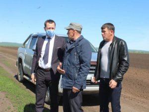 Глава района продолжает следить за местным сельским хозяйством