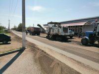 Начался капитальный ремонт дорог в Марксе