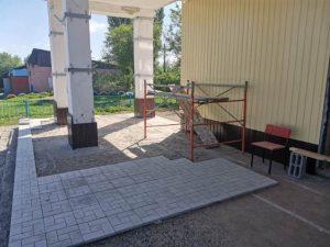Березовский Дом культуры отремонтирован на 70%