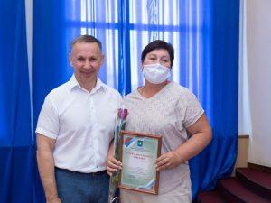 Клумба дома Елены Киселевой на Советской была признана лучшей в этом году