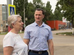 Дмитрий Романов мониторит работы по благоустройству