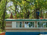 Ремонт в лагере «Огонек» совпал с его 55 летним юбилеем