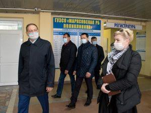 COVID госпиталь в Марксе должны открыть ко второму ноября