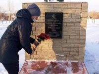 Память неизвестного солдата почтили в Марксе