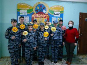 Школьный отряд «Монолит» активно участвует в общественной жизни города