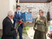 Делегация посетила участников Великой Отечественной войны