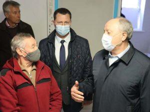 Губернатор региона посетил основные стройки Маркса